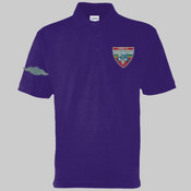 Mog 19 Blue Car - Polo shirt - Left chest badge & Right sleeve (Old style wings) £15.00 each