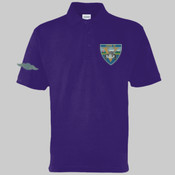 Mog 19 Black Car - Polo shirt -  Left chest badge & Right sleeve (Old style wings) £15.00 each