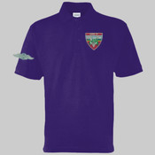 Mog 19 Green Car - Polo shirt - Left chest badge & Right sleeve (Old style wings) £15.00 each