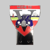 Enamel Chrome Car Badge - £38.00 each (please choose the car colour you require)